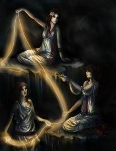 Les Moires, les divinités implacables du Destin