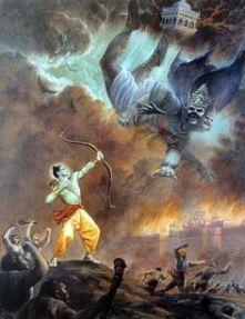 Rama-Chandra contre Ravana